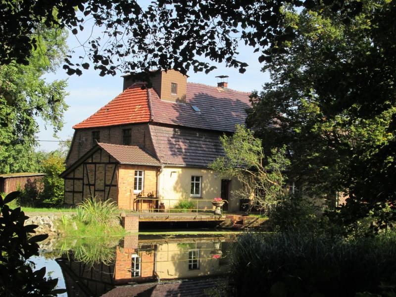 Bild 1 Kanow-Mühle Spreewald